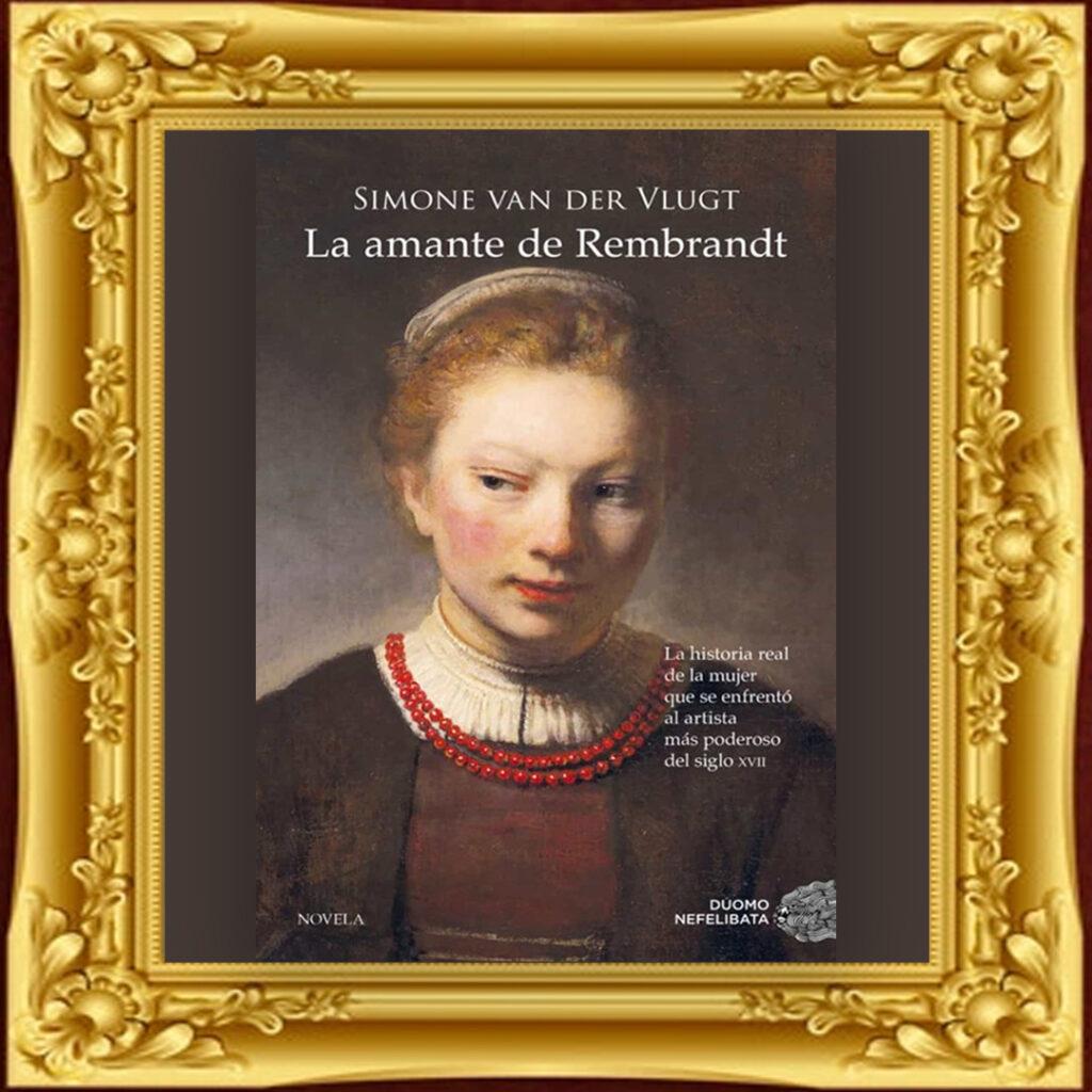 Portada La amante de Rembrandt